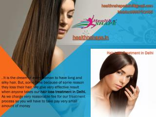 Effective Changing Hair Loss Treatment in Delhi
