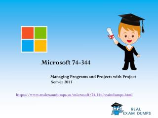 Download Valid MIcrosoft 74-344 Exam Questions - 74-344 Exam Dumps PDF