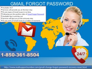 When Can I Take Help From Gmail Forgot Password Team? @1-850-361-8504