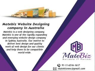 matebiz.com.au is a Custom Web Design Company