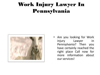 Workers Compensation Lawyers PA