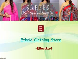 Ethnic clothing Store for women