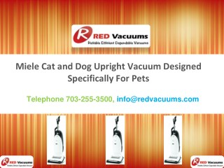 Miele Cat and Dog Upright Vacuum Designed Specifically for Pets