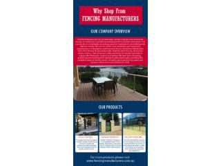 Shop Glass Pool Fencing Newcastle form Fencing Manufacturers?