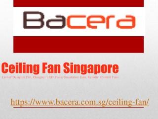 Ceiling Fan Singapore