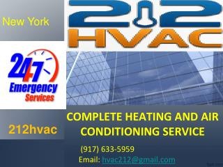 Air conditioner installation NYC