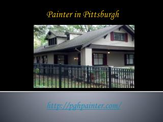 Painter Pittsburgh