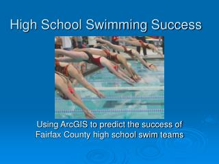 High School Swimming Success