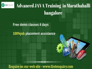Advanced JAVA Training  in Marathahalli bangalore(1)