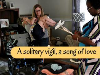 solitary vigil, a story of unending love