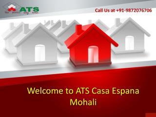 Ats Flats Mohali | Atscasaespanamohali.in