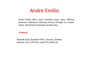 By Online Shirts - Andre Emilio