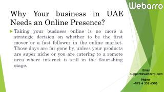 Ecommerce Business Trend in UAE Needs an Online Presence