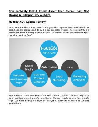 PSD to Hubspot COS Templates by Hubspot COS Designer – The Hub Guru