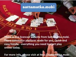 Make You a Winner in Satta Matka Games
