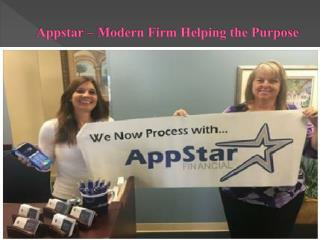 Appstar - Modern Firm Helping the Purpose