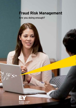 Fraud Risk Management - Are Your Doing Enough - EY India