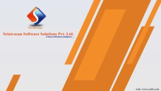 Srinivasan Software Solutions