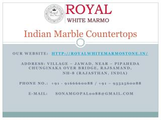 Indian Marble Countertops