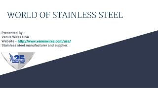 Stanless Steel suppliers and manufactures in USA