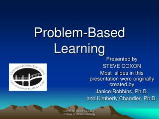 Problem-Based Learning
