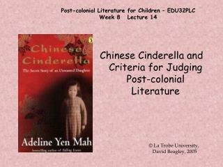 Post-colonial Literature for Children   EDU32PLC Week 8   Lecture 14