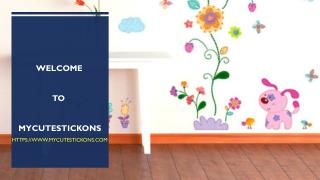 Wall Stickers for Children's Bedrooms