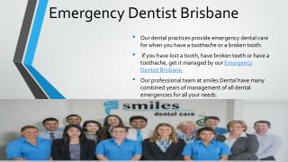 Emergency Dentist Brisbane