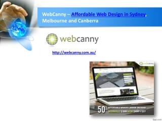 Cheap Web Design Sydney