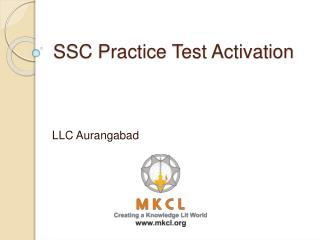 SSC Practice Test Activation