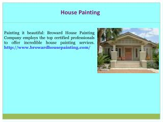 Paint House Broward