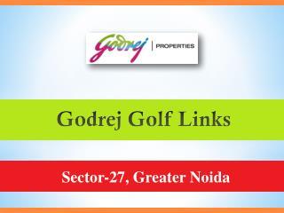 Godrej Golf Links Sector 27 Greater Noida – Godrej Property