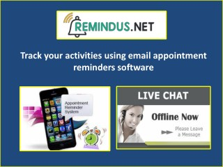 Get the best Email Appointment Reminders online