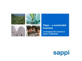 Paper – a sustainable business