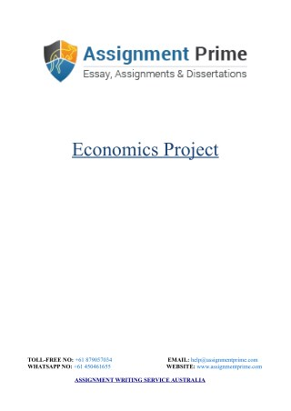 Economics Project: The Impact of Taxation on Economy