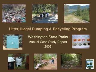 Litter, Illegal Dumping & Recycling Program