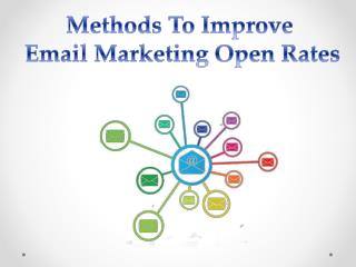 Methods To Improve Email Marketing Open Rates