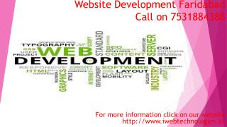 Website Designing  in Faridabad Offering All digital services