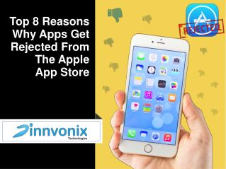 Top 8 Reasons why apps get rejected from the Apple App Store