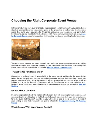 Corporate Event Venues,Venue for Corporate Events