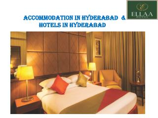 Hotels in Hyderabad | Accommodation in Hyderabad