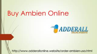 Buy Ambien For Insomnia