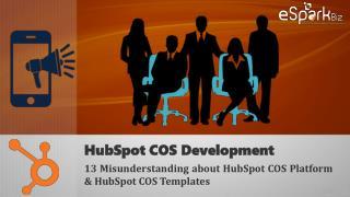 Custom HubSpot COS Development & Hubspot COS Templates
