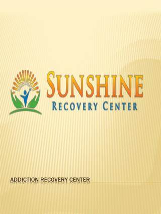 Drug Addiction Treatment | Addiction Recovery Center | Drug Rehab