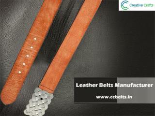 Leather Belts Manufacturer   Leather Belt