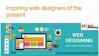 Inspiring web designers of the present   Hnwebmarketing