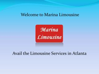 Atlanta Limo Service and Atlanta Airport Transfers at marinalimo.com