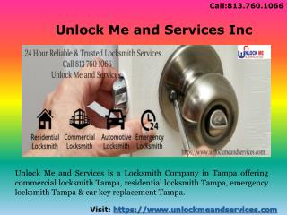 Hire the Reliable and Trusted Locksmith in Tampa FL
