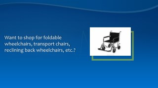 Discount Wheelchairs and Accessories