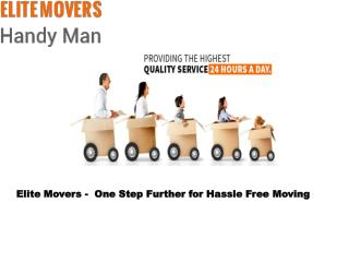 Commercial and Residential Moving Services Hong Kong